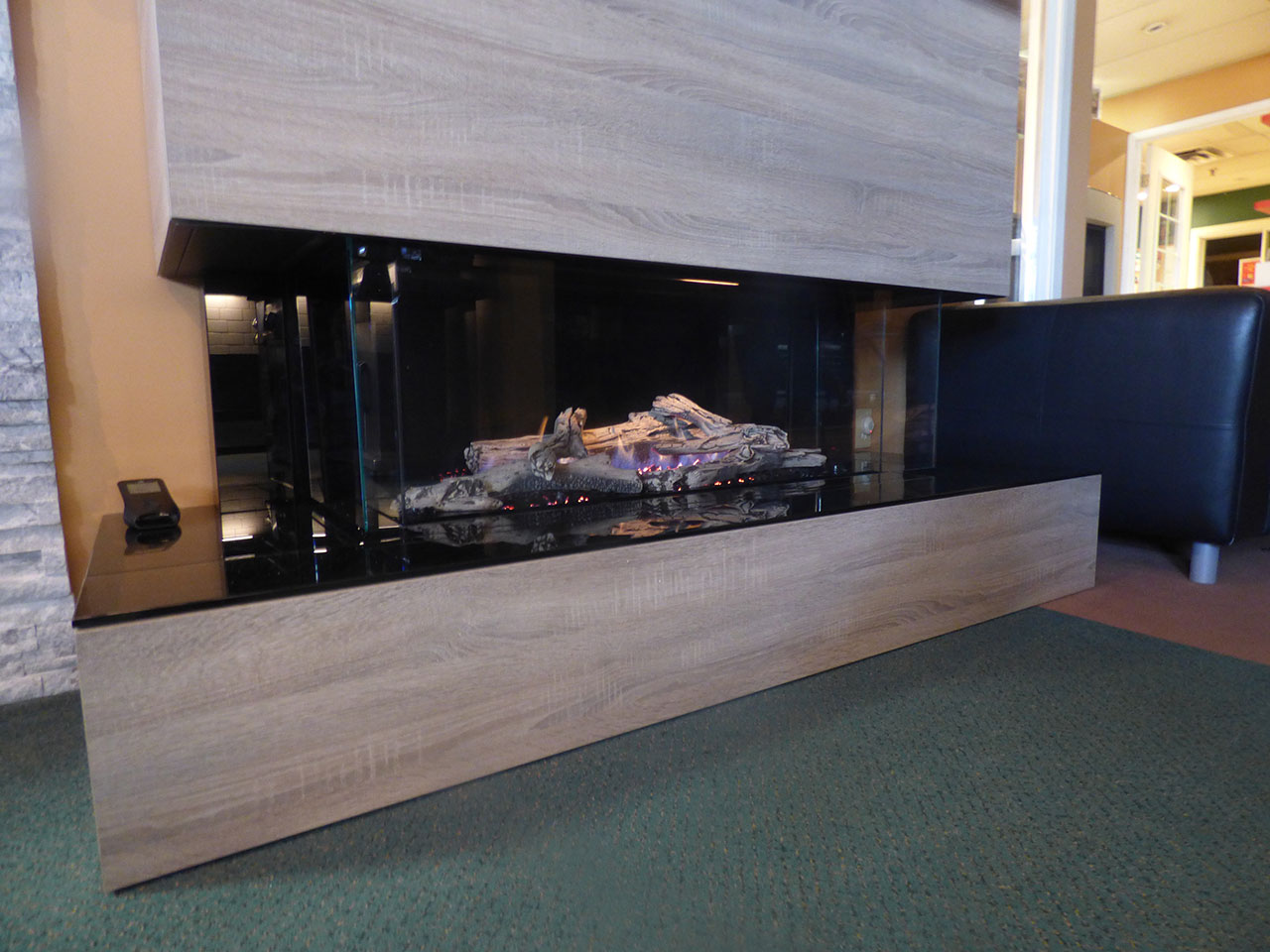 San Francisco Bay 40 Fireplace by Regency