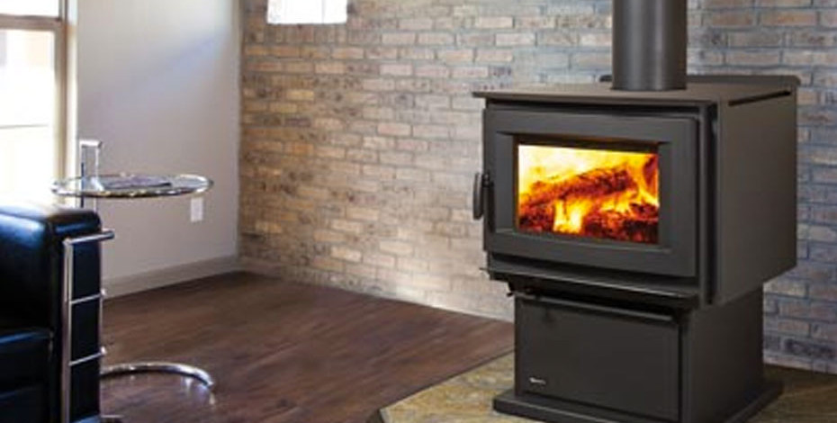 F5100 Extra Large Wood Stove Four Seasons Air Control